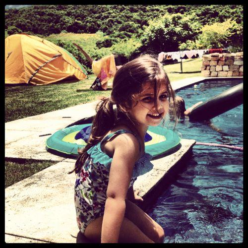 Selah by the pool