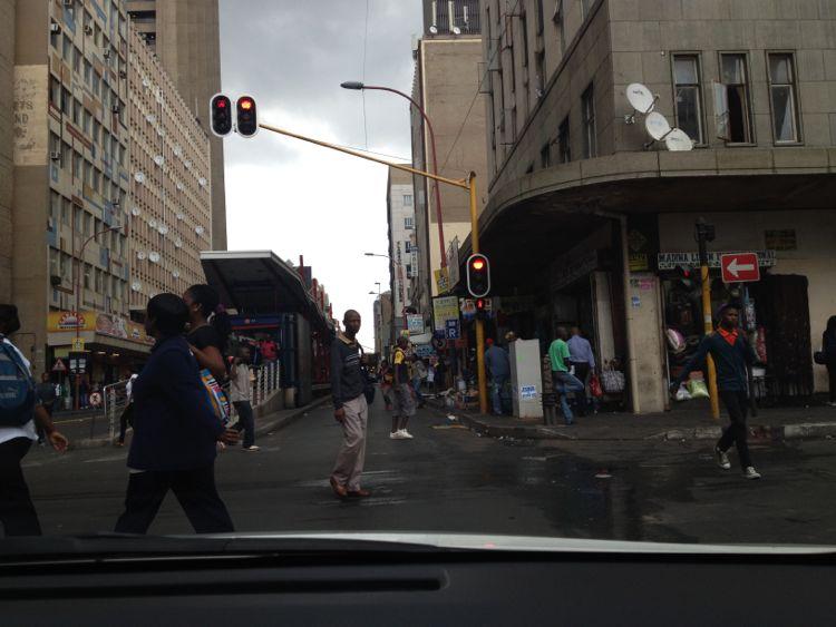 Downtown Johannesburg (AKA: Jo-Berg)