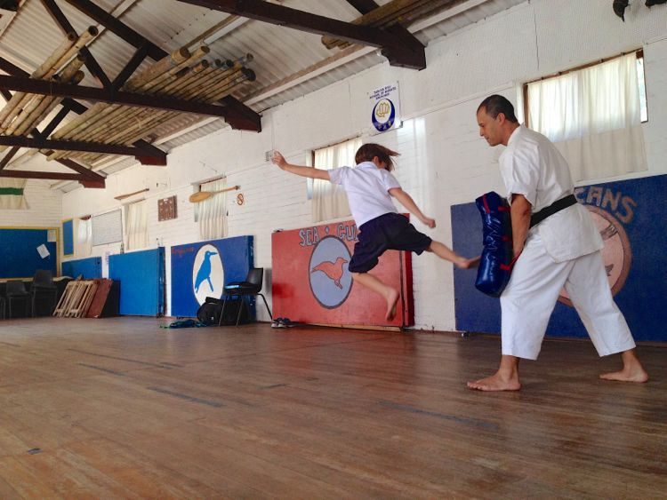 Noah karate launching 2